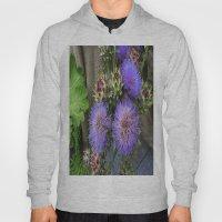 Purple Blooms Hoody