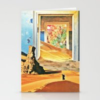 Through The Door Stationery Cards