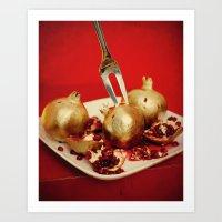Foodscapes I: Golden Gra… Art Print