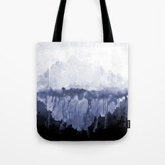 Paint 5 abstract water ocean arctic iceberg nature ocean sea abstract art drip waterfall minimal  Tote Bag