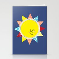 In the sun Stationery Cards