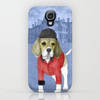 Galaxy S4 Cases featuring Beagle by Barruf