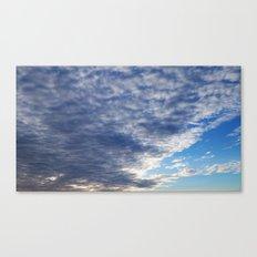 Cloud Patterns #3 Canvas Print