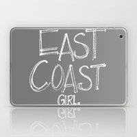 East Coast, Girl. Laptop & iPad Skin