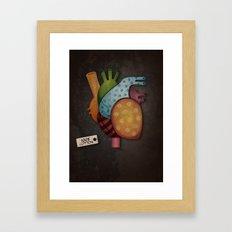 Soft-Hearted  Framed Art Print