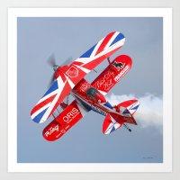 Stunt Plane Art Print