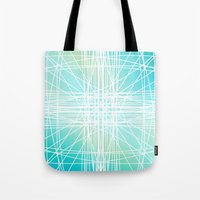 Linear Oceanblast Tote Bag