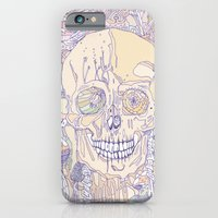 Floral Binomial & Bone iPhone 6 Slim Case