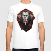 Oculus Rift Mens Fitted Tee White SMALL