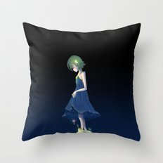 Under the Starry Sky Throw Pillow