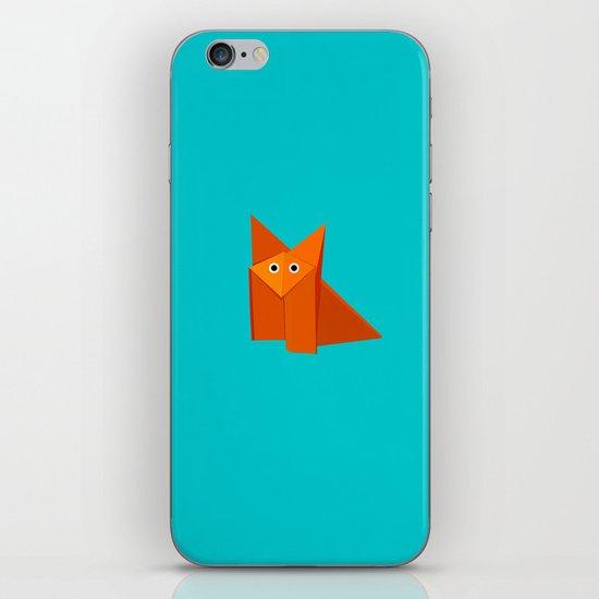 Cute Origami Fox iPhone & iPod Skin