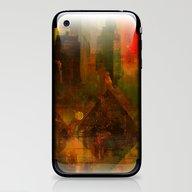 Pyramidal City iPhone & iPod Skin