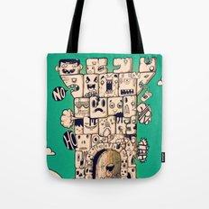 man castle Tote Bag