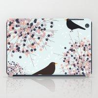 Hawthorn & Blackbird iPad Case
