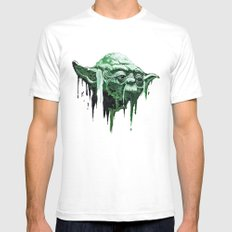 Force Of Nature Mens Fitted Tee White SMALL