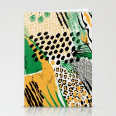 wild cats Stationery Cards