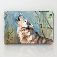 Lone Wolf iPad Case