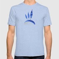 the feathers Mens Fitted Tee Athletic Blue SMALL