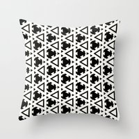 Jeremiassen Black & Whit… Throw Pillow