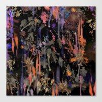 Firework Sky Canvas Print