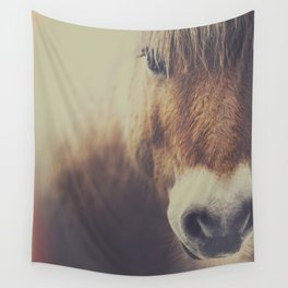 Wall Tapestry - The curious girl - HappyMelvin