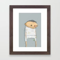 Sad Ernie Framed Art Print