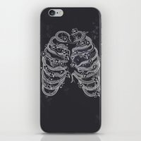 A swarm of bees living inside me iPhone & iPod Skin