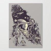 Stranded on Alpha Centauri Canvas Print