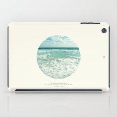 Christopher Columbus Quote iPad Case