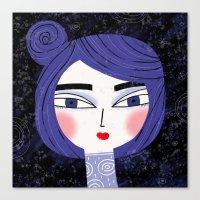 ORBIT HEAD Canvas Print