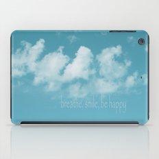 Blue Sky Meditation iPad Case