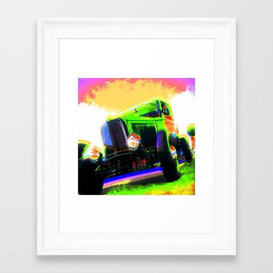 Tall boy Framed Art Print