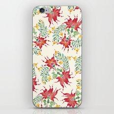 Dragon Flower Watercolor iPhone & iPod Skin
