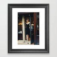 Vintage Chic III Framed Art Print