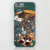 iPhone & iPod Case featuring Mobster Puzzle by Liviu Matei