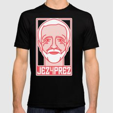 Shout to the Top: Jez4Prez Mens Fitted Tee SMALL Black