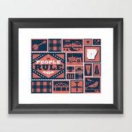 Framed Art Print featuring Arkansas by Zach Graham
