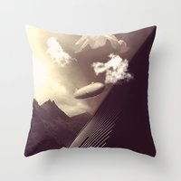 Imagination Un-interrupt… Throw Pillow