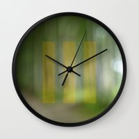 abstract nature dream 4 Wall Clock