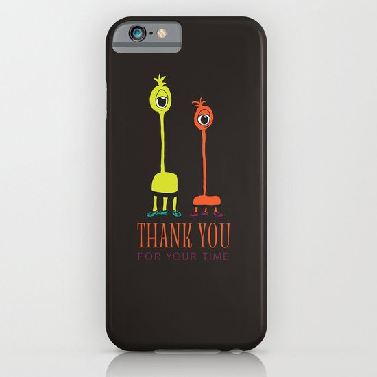 Thank You Aliens iPhone & iPod Case