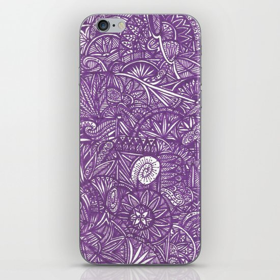 purple iPhone & iPod Skin