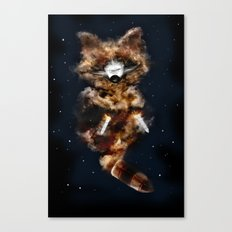 Rockets Raccoon Canvas Print