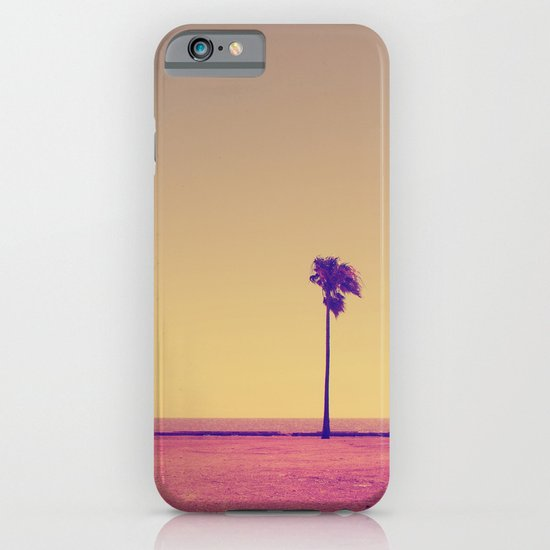 four palms in paradise iPhone & iPod Case