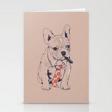 FRENCH BULLDOG BOSS Stationery Cards