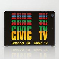 CIVIC TV iPad Case