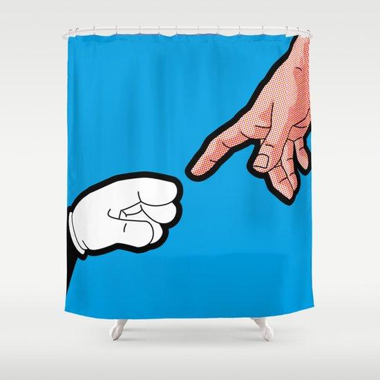Pop Icon - Empowerment Shower Curtain