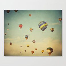 Floating in Space Canvas Print