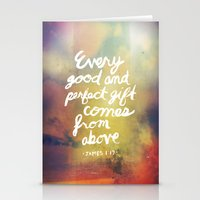 James 1:17 Stationery Cards