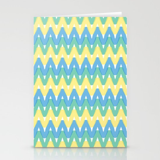 Summer Pattern 1 Stationery Card