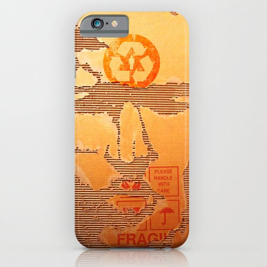 Handle with Care iPhone & iPod Case